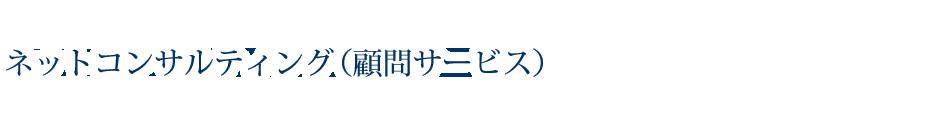 ネットコンサルティング(顧問サービス)